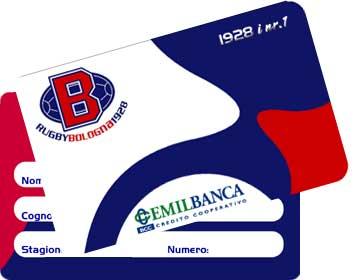 Bologna Rugby Card