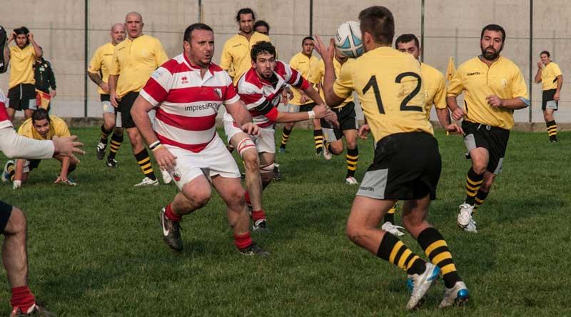 Giallo Dozza Bologna Rugby. Foto Valentina Gabusi.