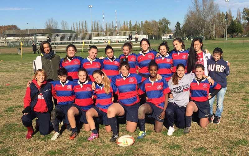 Under 16 femminile Rugby Bologna 1928